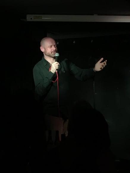 Angry Comedian
