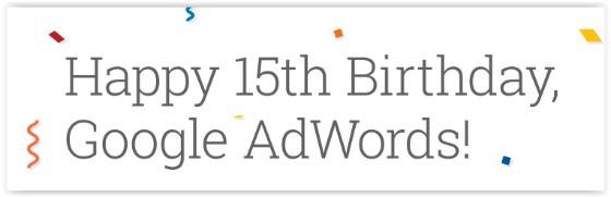 Adwords birthday