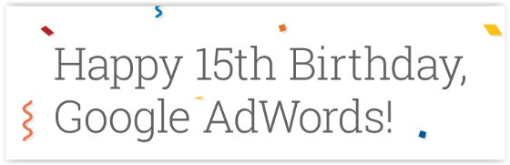 Adwords birthday