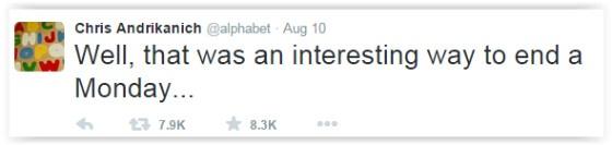 @alphabet tweet