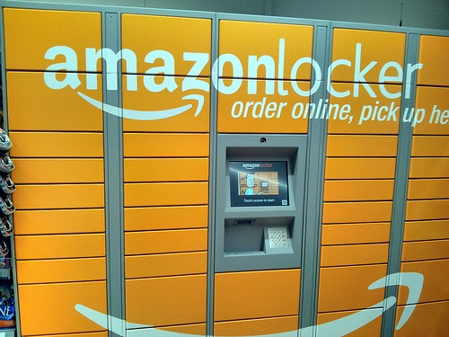 Amazon Lockers in a Co-Op