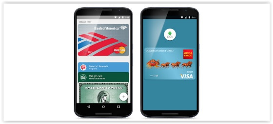 Android Pay on mobile