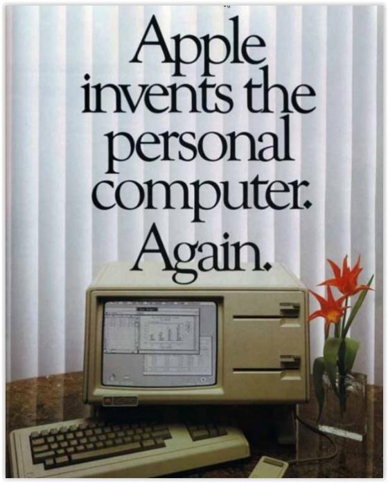 Apple advert