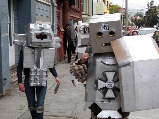 Some robots.