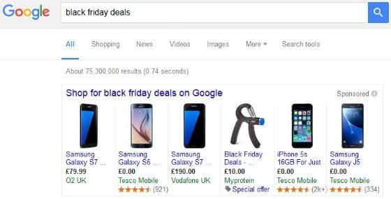 Black Friday ads
