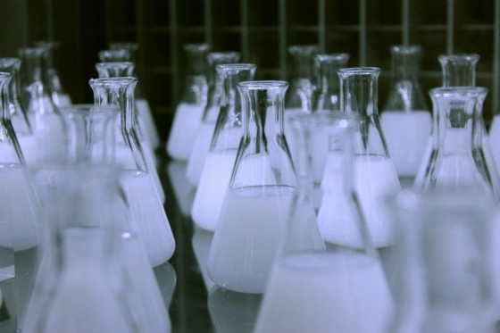 Chemistry flasks