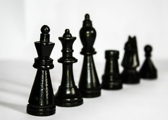 Hierarchy of chess pieces.