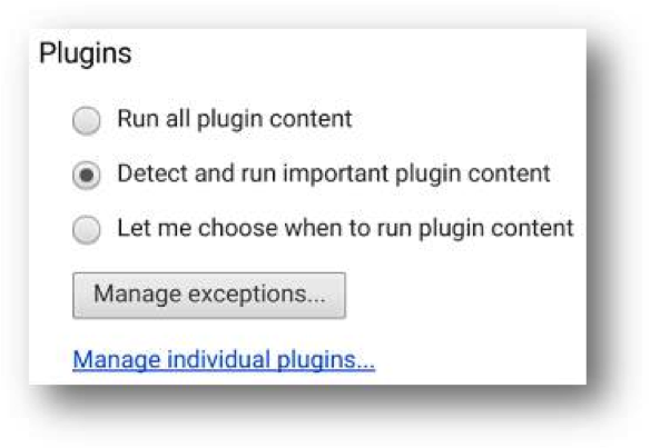 Chrome Update plugin