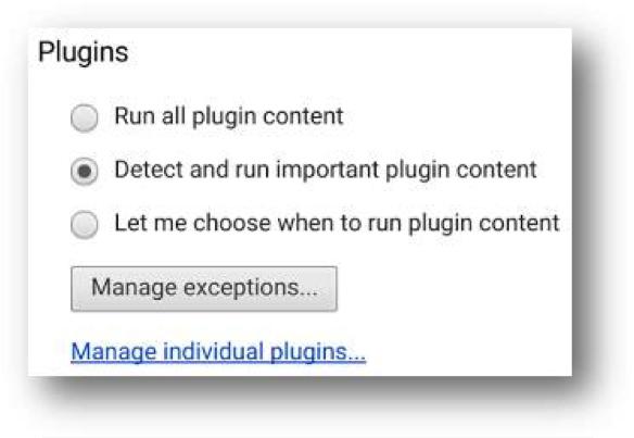 Chrome Update plugin