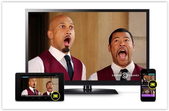 Comedy Central on Chromecast