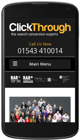 Our site was deemed 'mobile-friendly' (of course!).