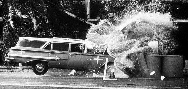 Crash test.