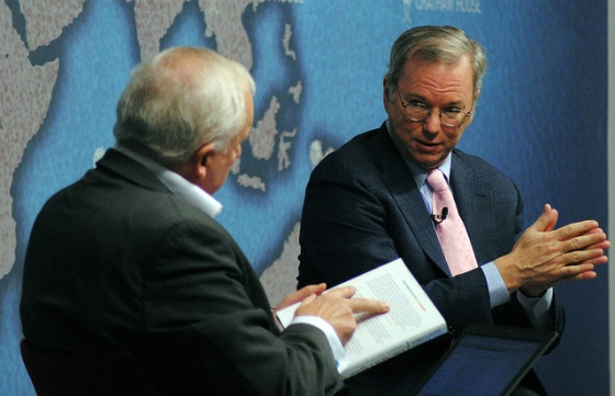Eric Schmidt in conversation.