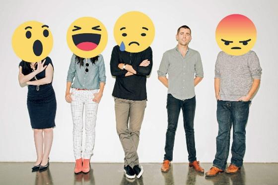 Facebook Emotive Reactions