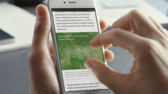 Facebook's Instant Articles.