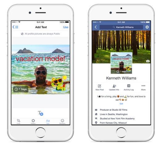 Facebook on mobile