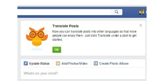 A screenshot of the translation tool.