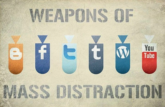 Weapons of mass distraction.