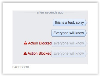 Facebook 'Everyone Will Know'