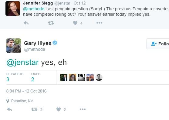 Gary Illyes Yes Penguin