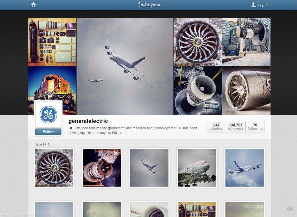 General Electric Instagram