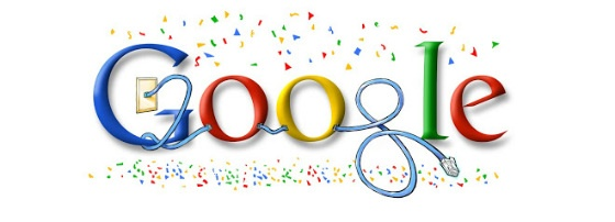 Google's New Year Doodle 2008