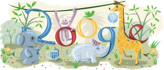 Google's New Year Doodle 2009