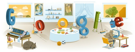 Google's New Year Doodle 2013