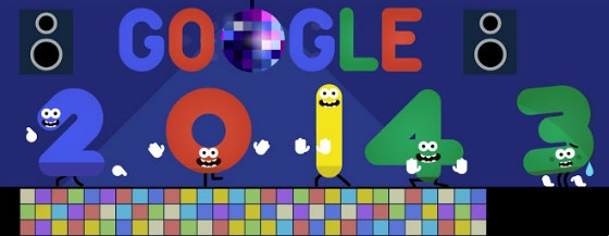 Google's New Year Doodle 2014