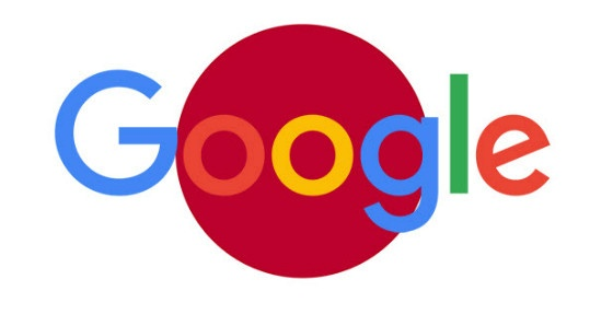 Google Japanese flag