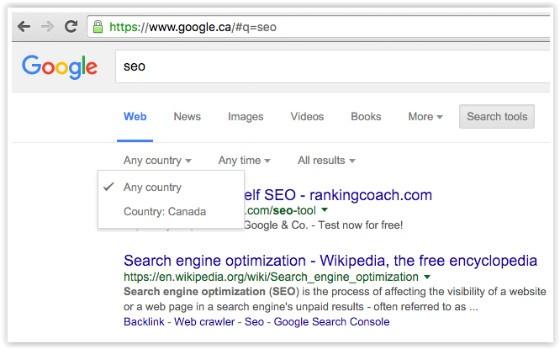 Google Location Search