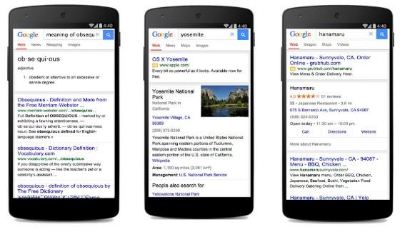 Google's new 'lite' version of mobile search.