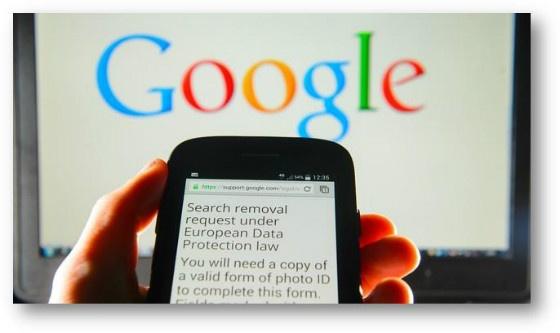 Google disclaimer