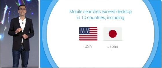 Google: growth in mobile