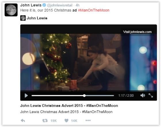 John Lewis Ad Twitter