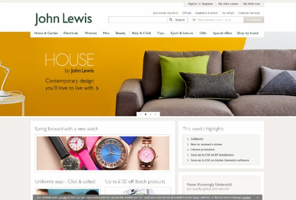 John Lewis New