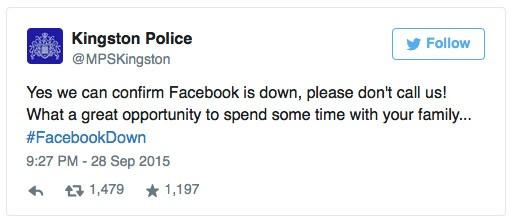 Kingston Police Tweet