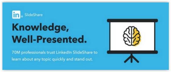LinkedIn SlideShare branding