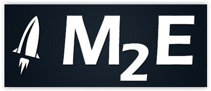 M2E logo