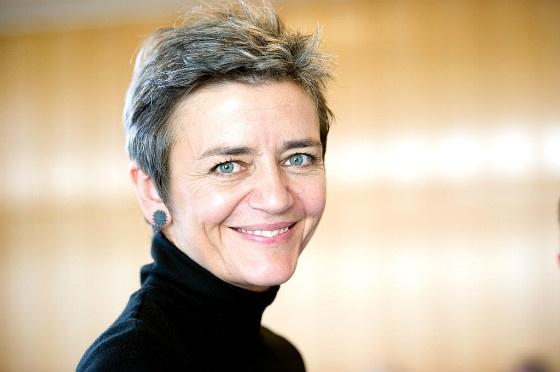 Competition commissioner Margrethe Vestager