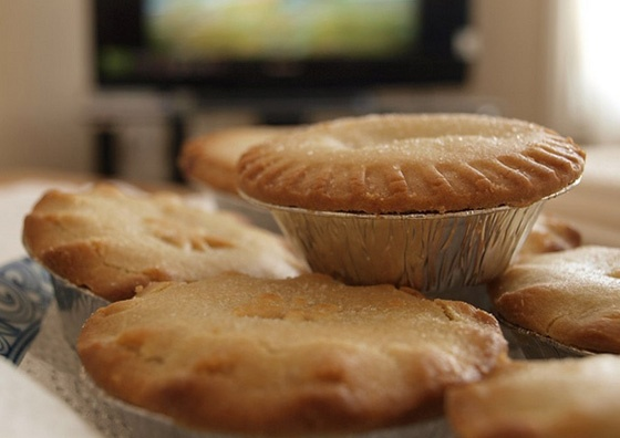 Mince pies.