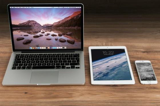 Laptop, tablet, mobile