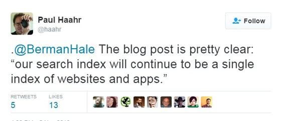 Paul Haahr mobile index 2