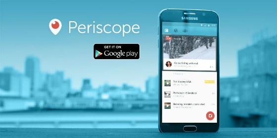 Periscope media banner