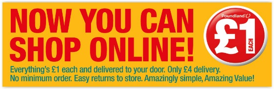 Poundland advert