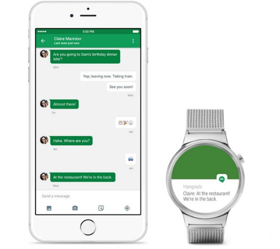 Android Wear on iOS