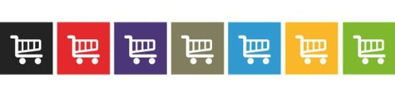 Online shopping trolleys