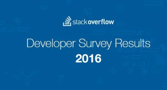 Stack Overflow Developer Survey 2016