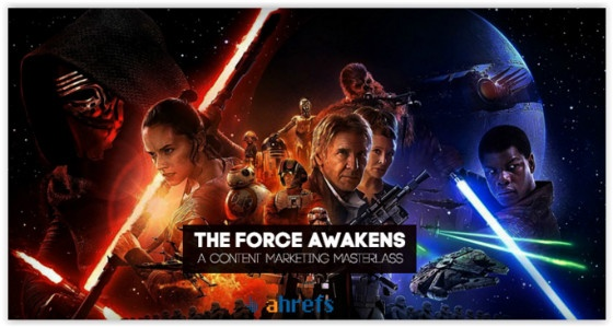 Star Wars ahrefs