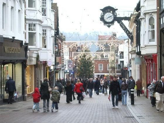 Winchester High Street.